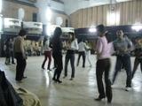 Dance lesson in Hanoi