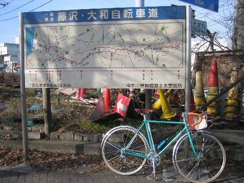 サイクリングロード始点