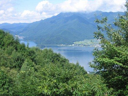 河口湖遠景