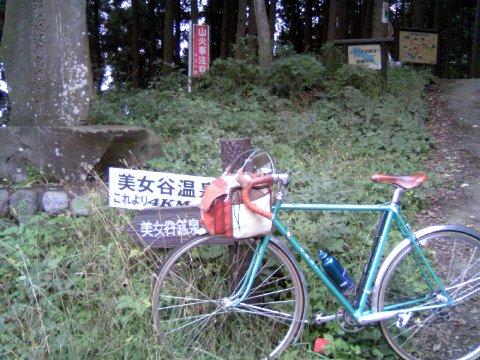 栃谷坂沢林道ピーク