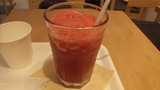 苺とグランベリーのジュース