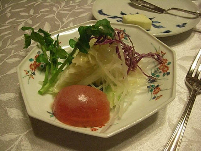 ヒーリングタイム:フランス料理「スコット(3)」日本橋浜町 ...