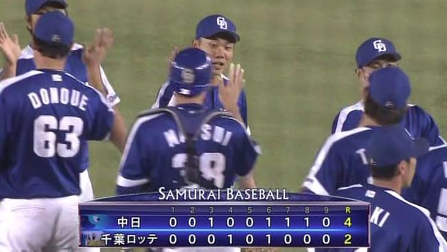 中日大野が今季初勝利!ヒーローインタビューで涙をこぼす