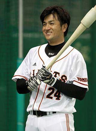 高橋由伸の11打数連続安打とか言う日本記録