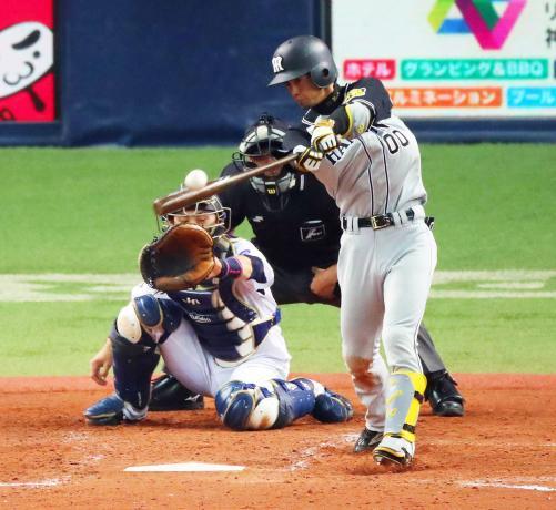 上本 打率.293(157-46) 3本 12打点 6盗塁 OPS.791