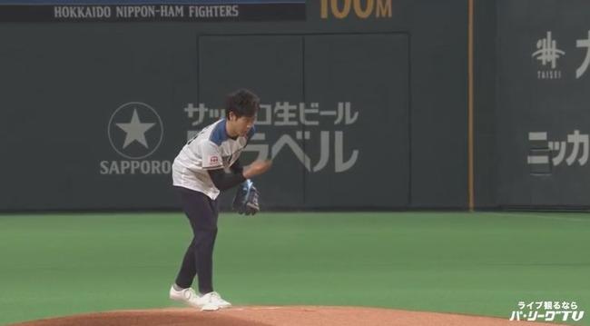 【動画】大泉洋さんの始球式wwwwwwwwww