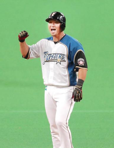 日本ハム中田が国内FA取得「今は考える余裕ない」