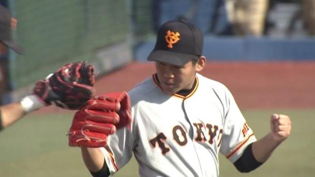 巨人田口、プロ2度目の完封勝利!6安打無四球の好投