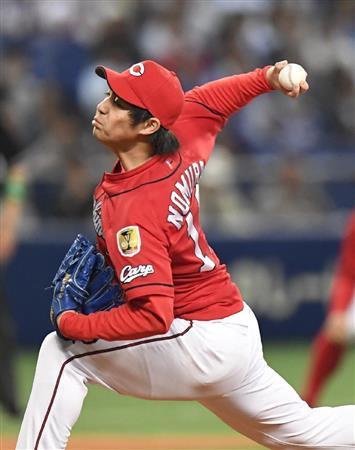 広島・野村祐輔さん、球団史上最速のプロ通算50勝達成