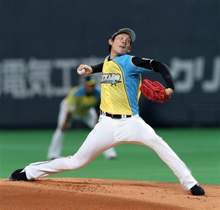 日本ハム・高梨が今季初完封で2勝目!レアード、賢介弾で今季初の2桁得点