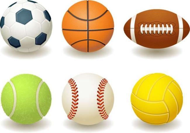 Exquisite-balls-vector-image-materia