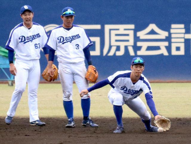 【中日】京田、二塁コンバート…根尾優先、与田監督打診も「譲れない」