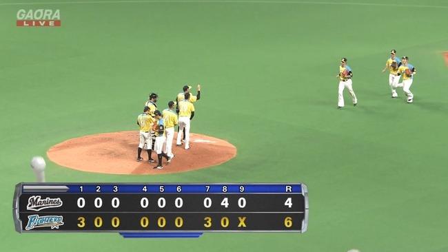 日本ハム、今季初の3連勝!ロッテは4連敗