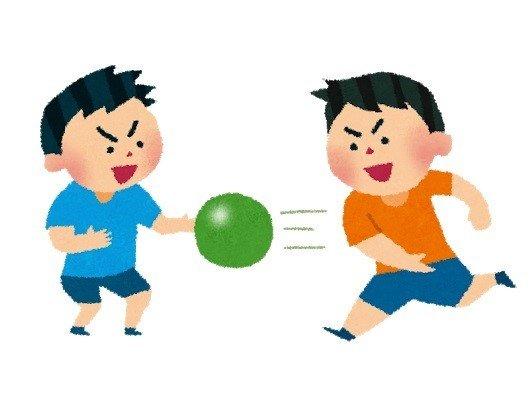 ドッジボール(楽しさS、運動量A、観戦S)←こいつが天下取れなかった理由