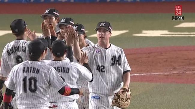 ロッテ連勝、石川7回0封7勝目!完封負けのDeNAは連勝ストップ