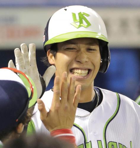 山田哲人(25) .273 7 16 8盗塁 OPS.980
