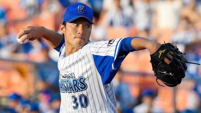 De飯塚悟史 5試合 0勝3敗 22奪三振 奪三振率7.24 防御率2.96