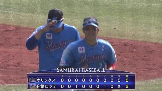 千葉ロッテ、連敗5でストップ!!完封リレーで勝利