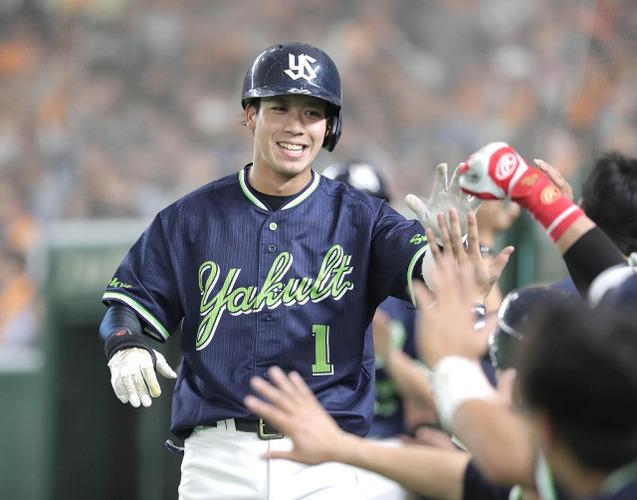 山田哲人(25) .264 6本 14打点 7盗塁