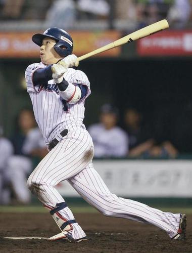 山田哲人(25) .314 13本 24打点 13盗塁