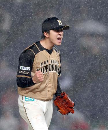 【大エース】日本ハム・上沢が2試合連続完封勝利!