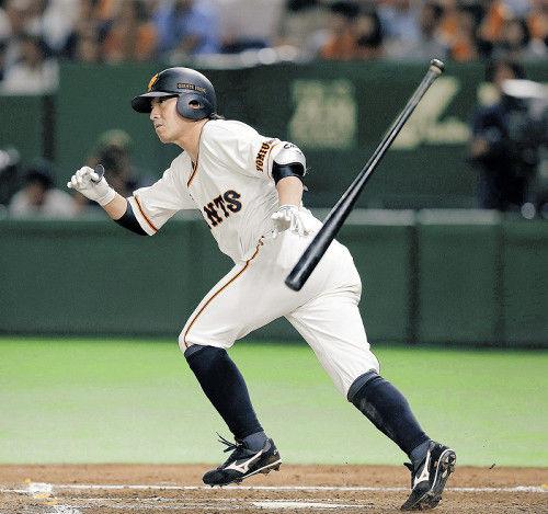 長野久義(4月末)打率.177、0本、1点←アカン