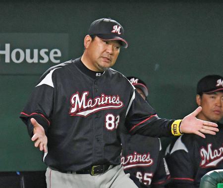 ロッテ・伊東監督、今季限りでの辞任を表明