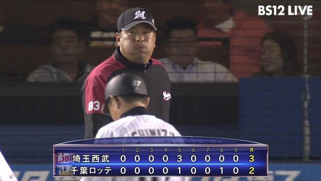 【悲報】ロッテ、6連敗で早くも自力優勝消滅