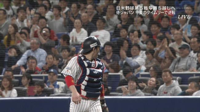 【日米野球】変則甲斐キャノンでゲームセットwwwwww