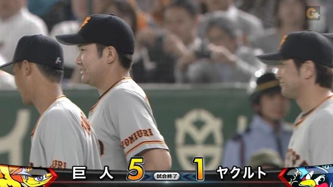 巨人菅野が8回1失点でトップタイ5勝目!今季両リーグ最短2時間16分で連敗止める