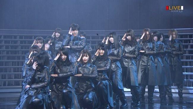 【紅白】欅坂46メンバー、紅白で失神する