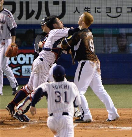野球 乱闘