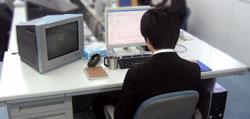 プログラマー机