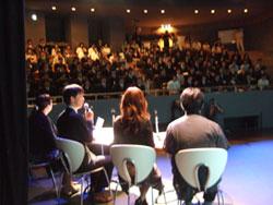 舞台袖の光景