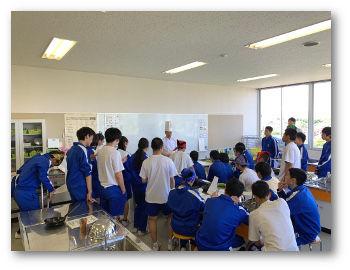 職業体験出前講座ー3 in 米沢第一中 : 山調ブログ