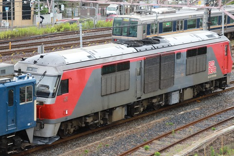 甲76 EF64 1024 9866レ-1(JR貨 DF200型)