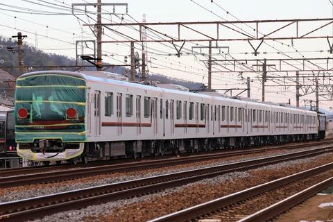 甲209 EF65 2065 9866レ-2(東武70090系)