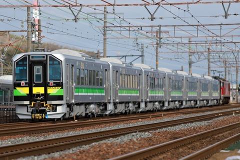甲191 EF510-8 8561レ-2(JR北_H100 形)