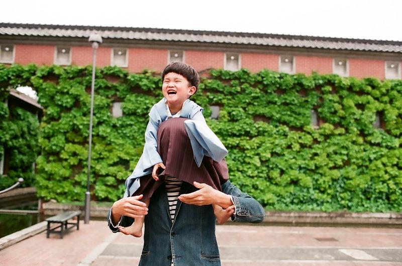 岡山県倉敷市で家族写真 フィルム