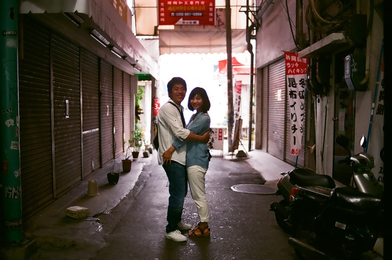 那覇で家族写真 フィルム