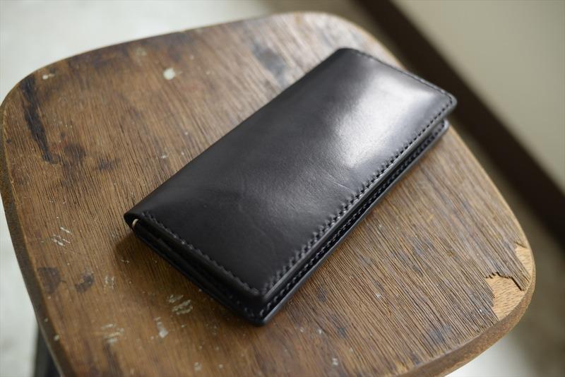 ヌメ革の財布フェア