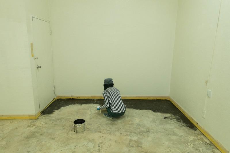 床に色塗る