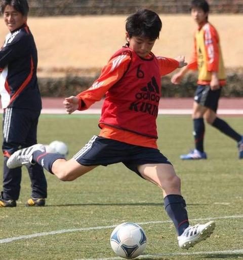 攻撃的MF三上孝太は青森山田中の10番を背負って全国中学校大会優勝2