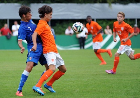 Fussball-U17-Laenerspiel-in-Rain