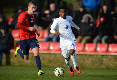 England-U16-v-Norway-U16-U16s-International-Friendly