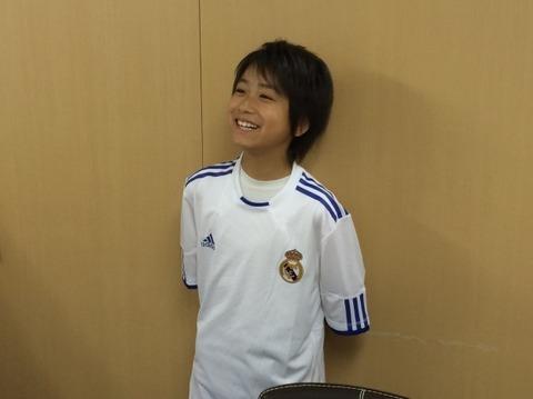 22中井卓大 11歳 日本 レアル・マドリー