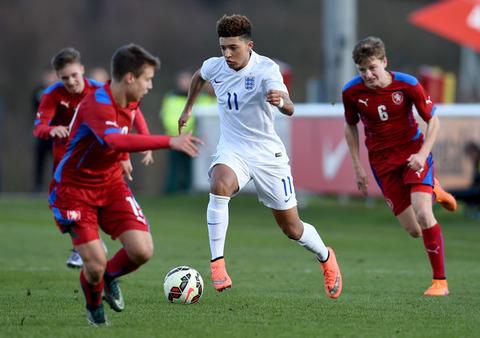 Jadon+Sancho+England+v+Czech+Republic+U16s+AoNcCAnXQVhl