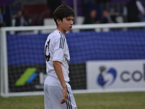 11テオ・ジダン 14歳 フランス レアル・マドリード