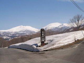 月山スキー場への道2