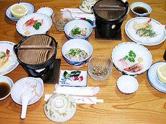 三浦屋夕食